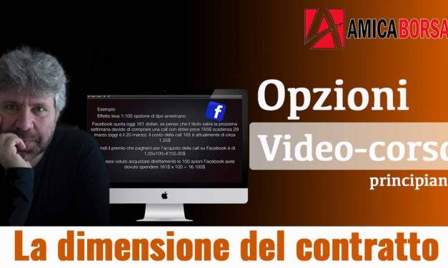 Video corso trading in opzioni | video 4